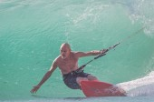 Richard Branson Kite Surfing
