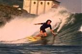 Mundaka surfing 1970s
